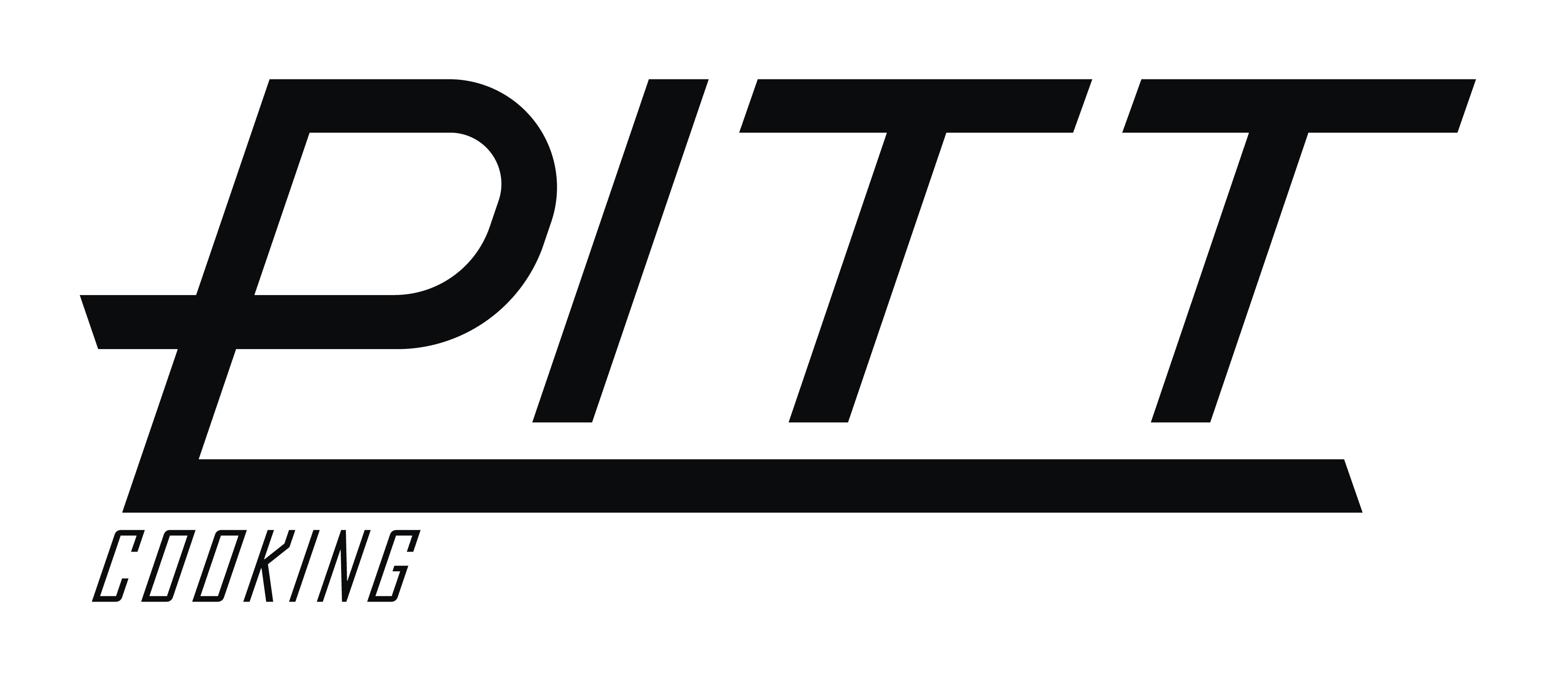 PITT cooking Logo PNG Black